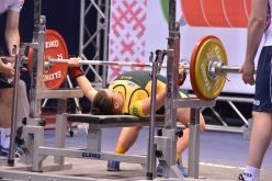 Kim Stevenson 107.5kg bench