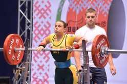 Kim Stevenson 125kg Squat