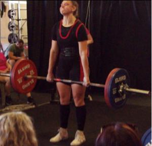 Lauren O'Sullivan 170kg deadlift - BNB 20.10.2018