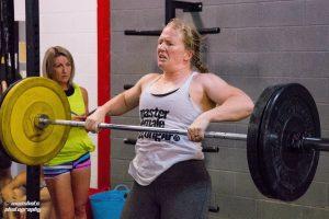 Sarah Wheal Crossfit Training