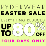 RYDERWEAR EASTER SALE
