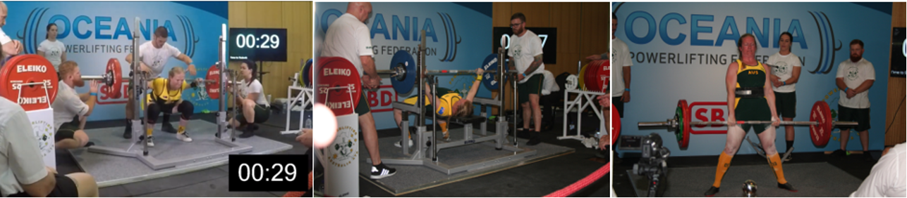 Sarah Wheal Oceania Powerlifting Championships 2018