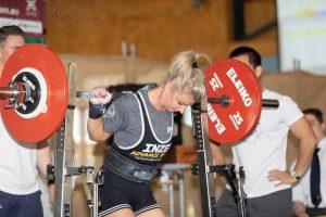 Jenelle Schultz Powerlifter Squat