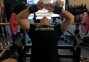Hannah Altman Bench Press Set Up