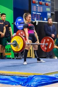 Wendy Chan Deadlift smile