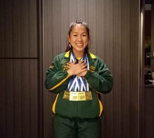 Wendy Chan Oceania Champion Medals
