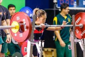 Wendy Chan squat focus