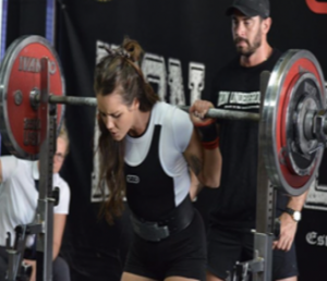 Emily J Seymour Low Bar Squat
