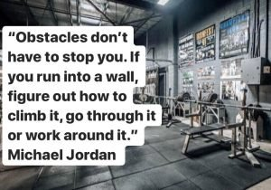 Michael Jordan Obstacles don't have to stop you.
