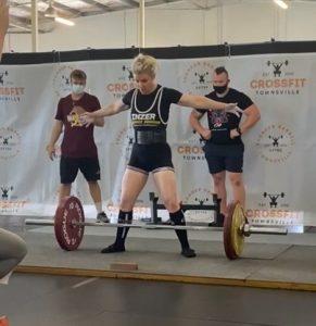 Jenelle Schultz APU comp 155kg sumo deadlift